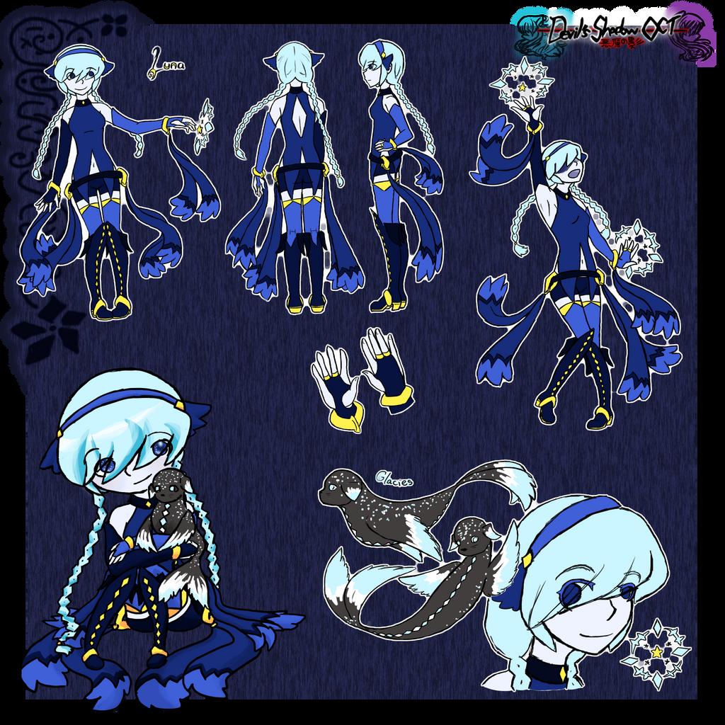 Luna Reference by Kuro-Okuri