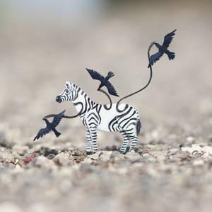Zebra - Paper cut art