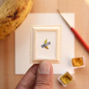 Just a little Banana - Paper Cut art