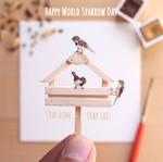 World Sparrow Day - Paper Cut art