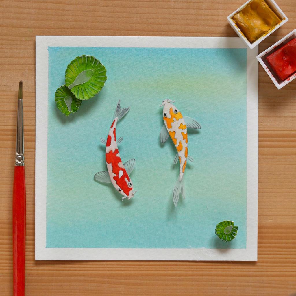 The Amur Carp generally known as Koi fish