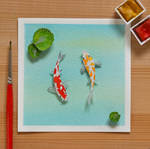 The Amur Carp generally known as Koi fish