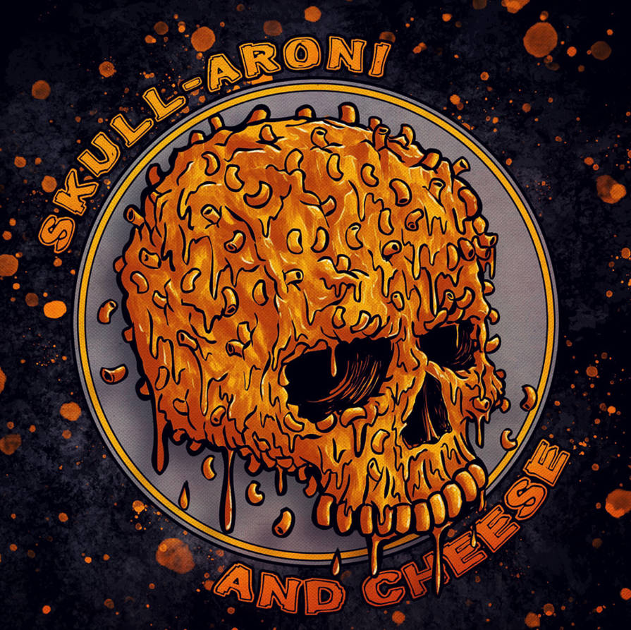 SKULL-ARONI AND CHEESE by MintyFreshThoughts