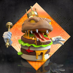3D Double king