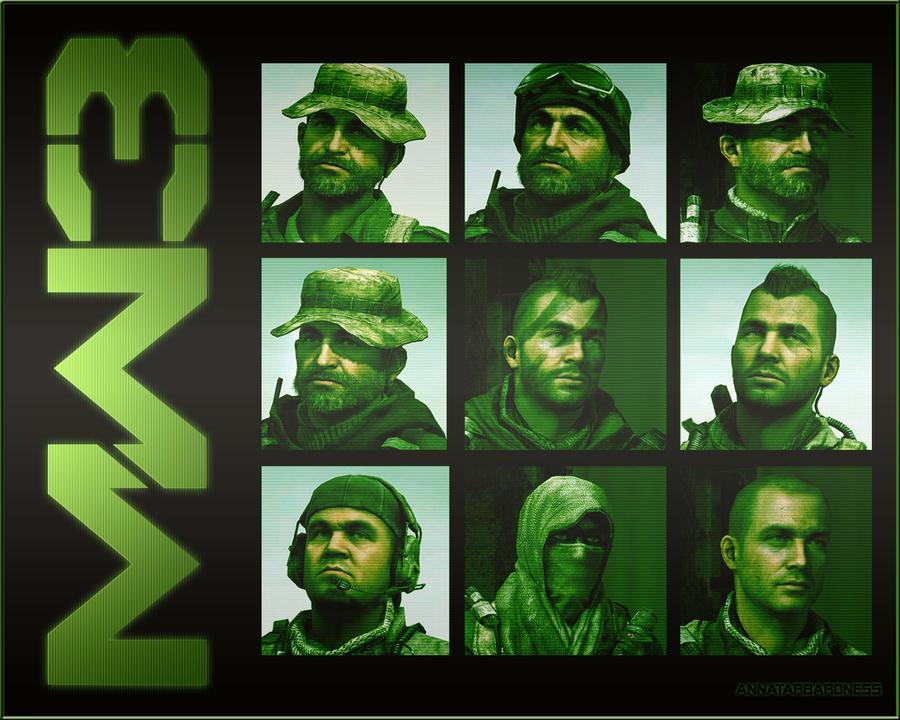 Modern Warfare 3 Wallpaper By LadyAnnatar