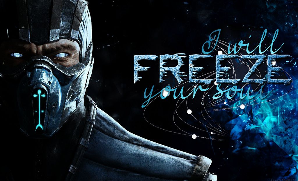 Sub Zero MKX Wallpaper By LadyAnnatar