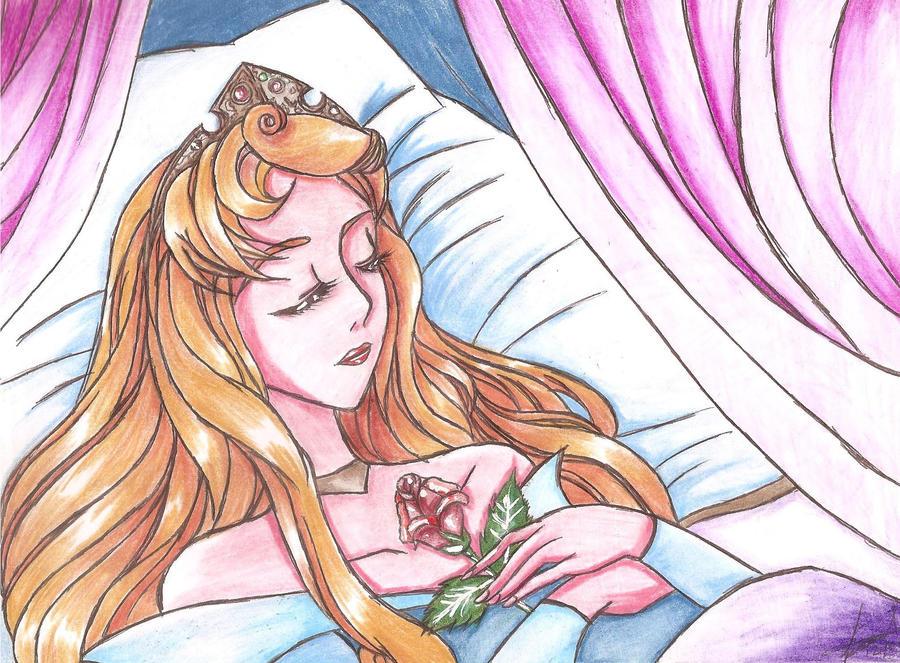 La Bella Durmiente by CHIKAON
