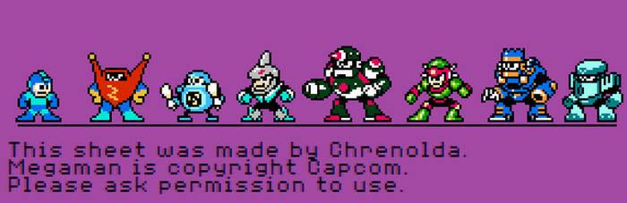 Misc. Robot masters. by Chrenolda