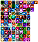 MM Series Weapon Icons
