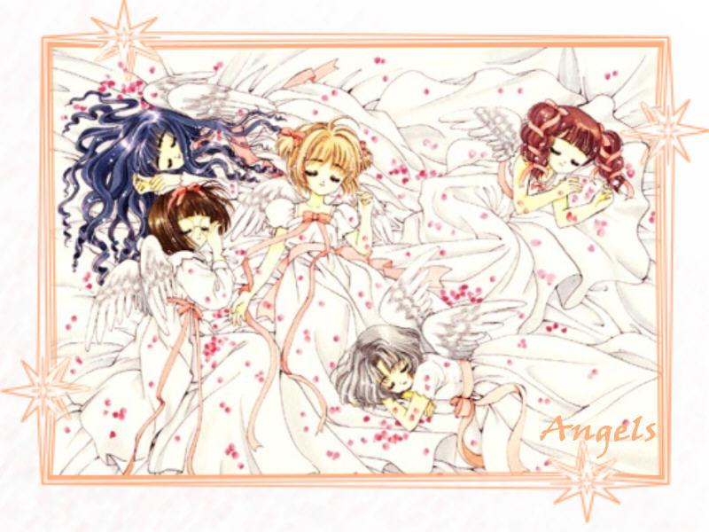 Card captor sakura angels by mystic kiko on deviantart