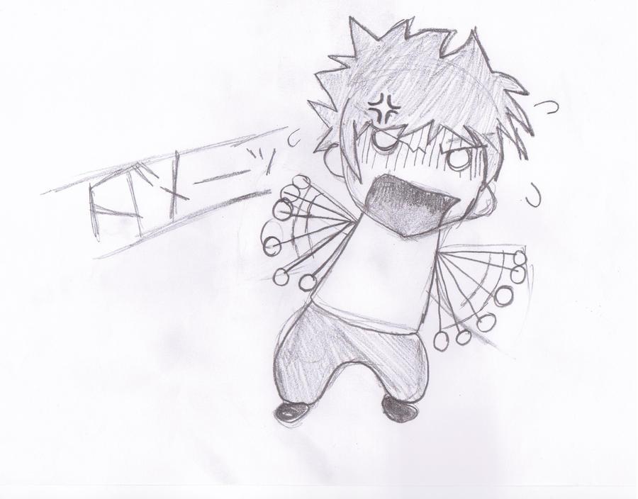 Angry Chibi by kadudet