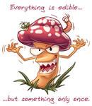 Evil Mushroom by Fany001