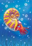 Ammonite by Fany001