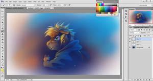 Digital Painting Tutorial - Transparent Layering