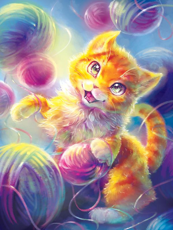 Dream of a Kitten Cover Illustration
