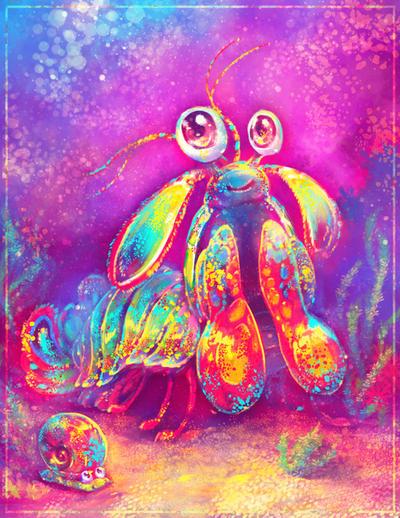 Mantis Shrimp by Fany001