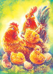 Chicken Family vs1