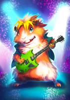 Rocker Guinea Pig by Fany001