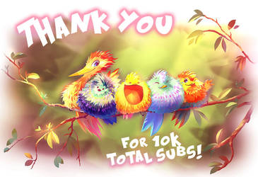 10 000 subscribers at Tapastic