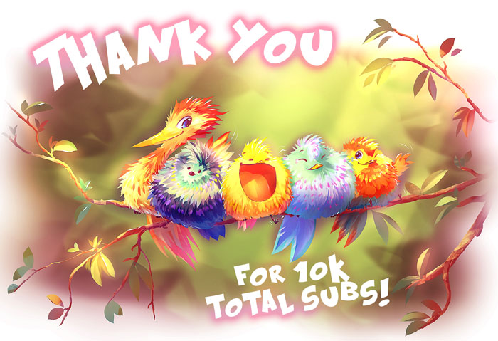 10 000 subscribers at Tapastic by Fany001