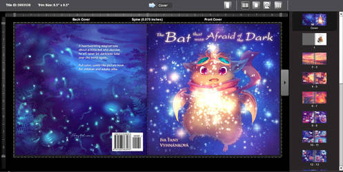 The Bat that was Afraid of the Dark book cover