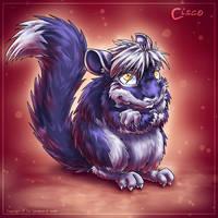 Cisco the Chinchilla by Fany001