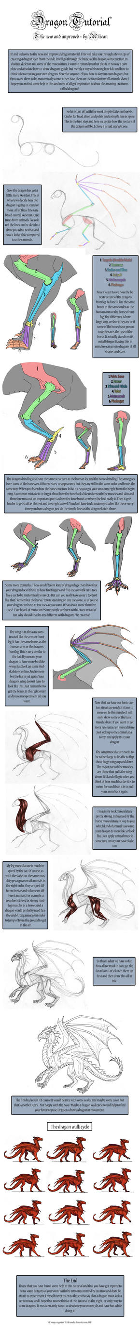 Dragon Tutorial - New by alecan