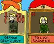 hostile bratwurst takeover by Skittlemonkey
