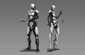 Reanimated Soldiers by longgi