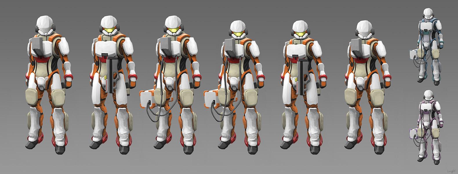 Combat EVA Suit by longgi