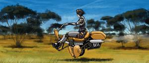 Speedy - Hovercycle