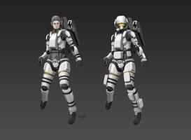 Civilian Space Suit CM81 by longgi