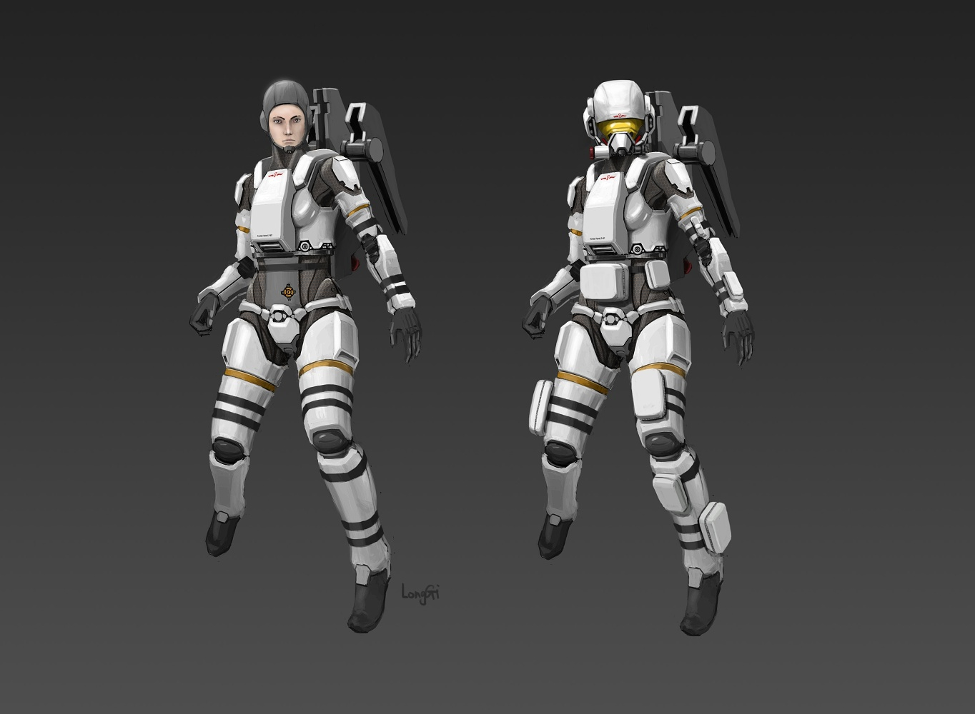 Civilian Space Suit CM81 by longgi