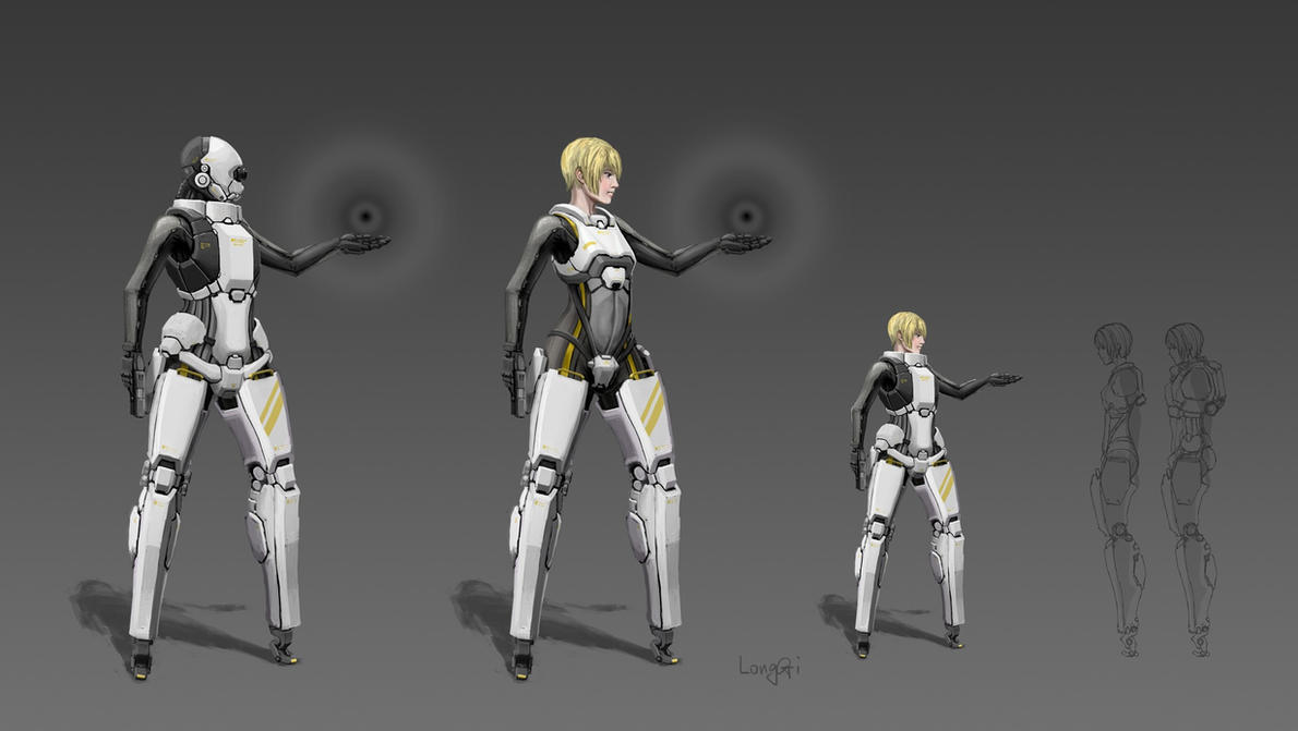 Ballerina Armour by longgi