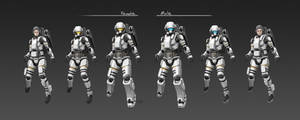 Civilian Space Suit CM81 Full Set