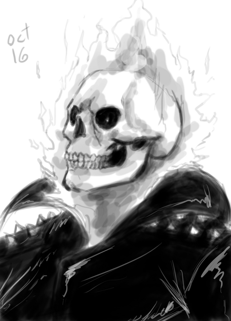 Ghost Rider (Johnny Blaze) by Rober2403