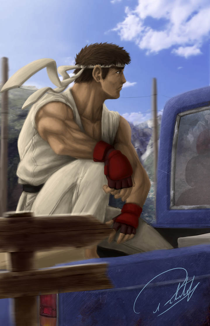 Ryu Street Fighter 1 by Rober2403