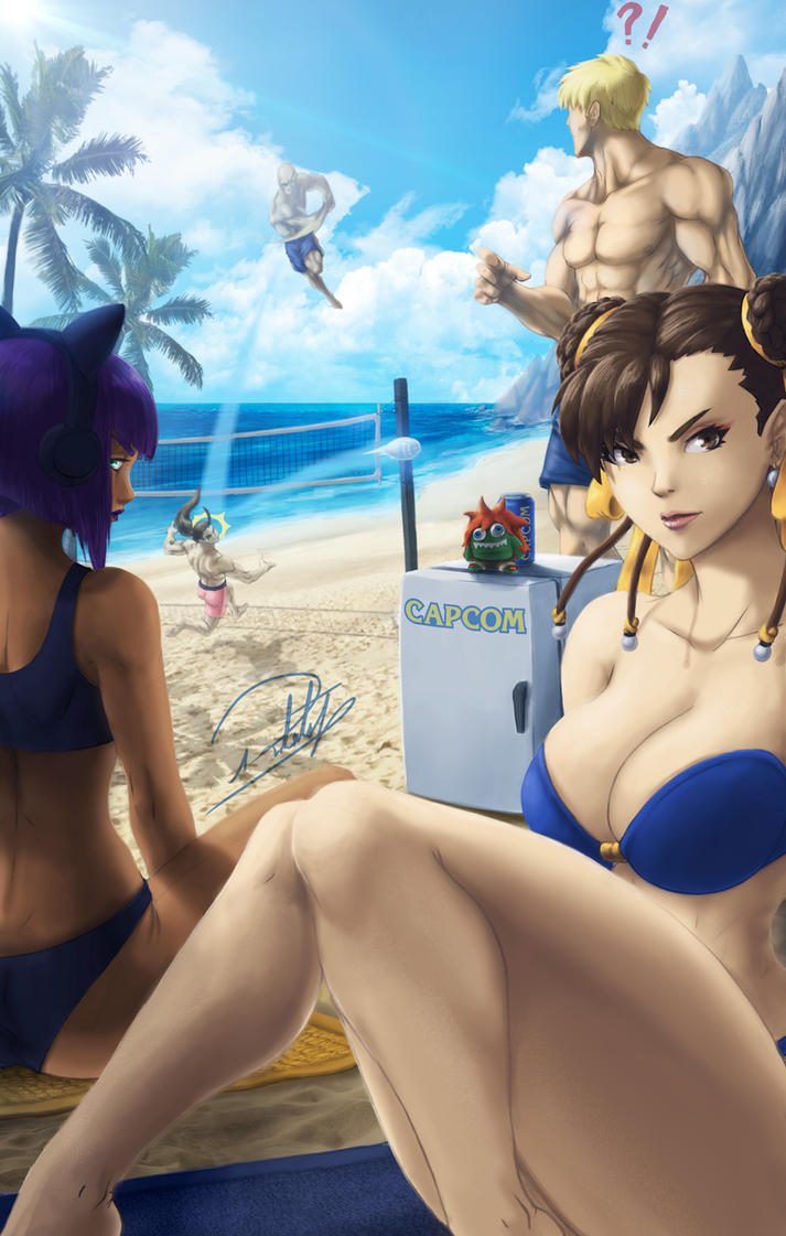 Street Fighter Contest by Rober2403