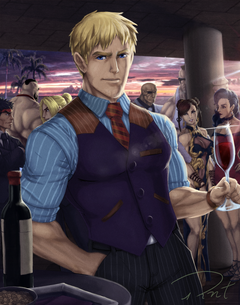 Street fighter party by Rober2403