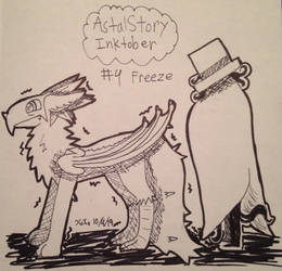 [Astral Story Inktober] #4 Freeze