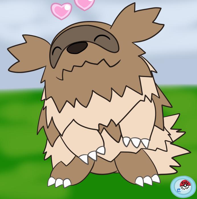 Zigzagoon In Pokemon Amie By Obviousoddball On Deviantart