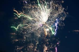 Distorted Fireworks 007