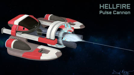 Hellfire Pulse Cannon by thunderkracker