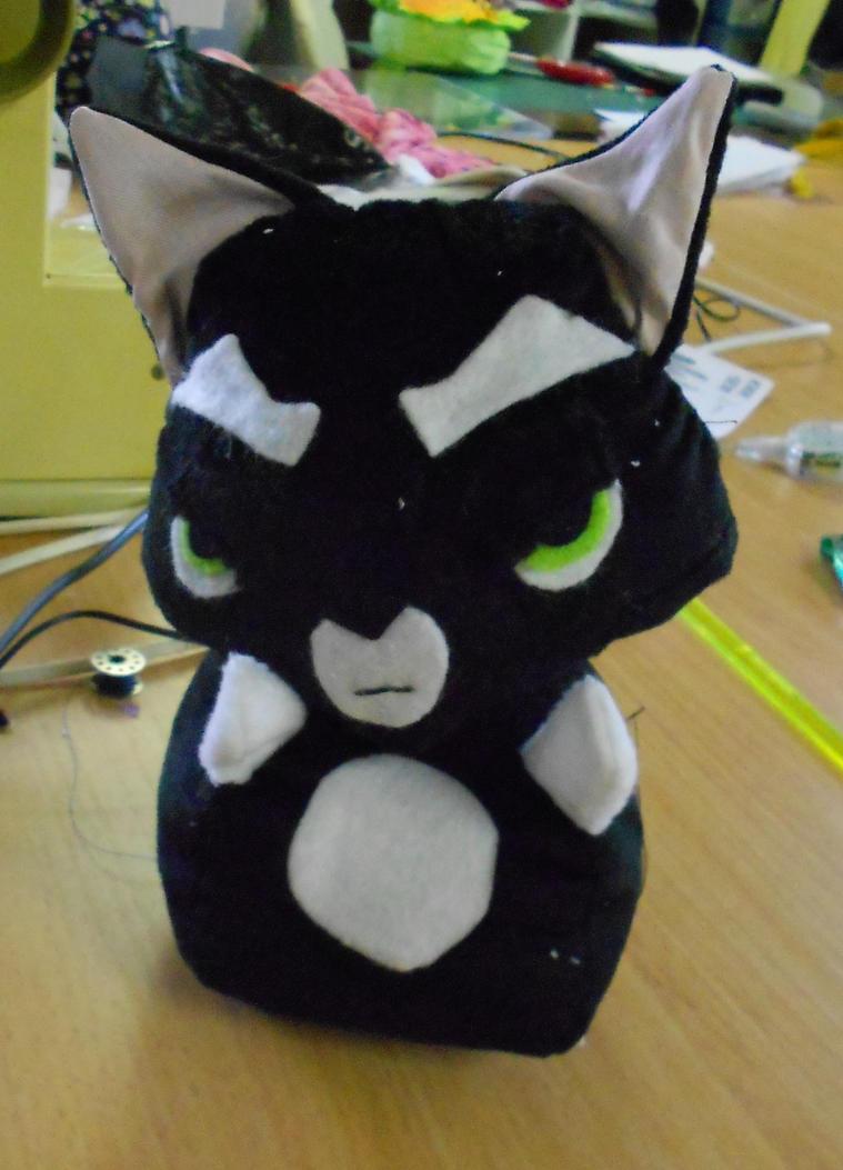 Scowly Cat: Mordecai by HadesKitten