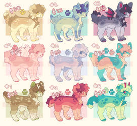 adopts! [FLATSALE] 20 AUD each! by honeycrossing