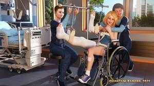 The Mobile Traction Wheelchair