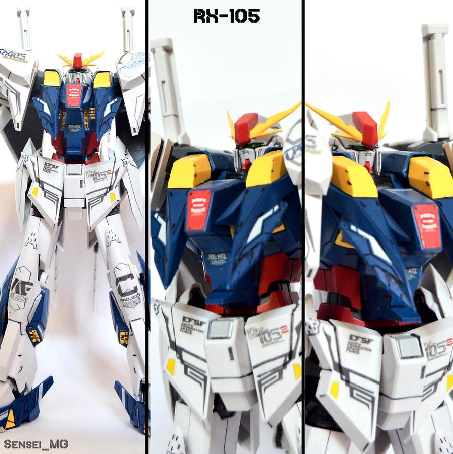 RX-105 XI Gundam by LetsGoFar
