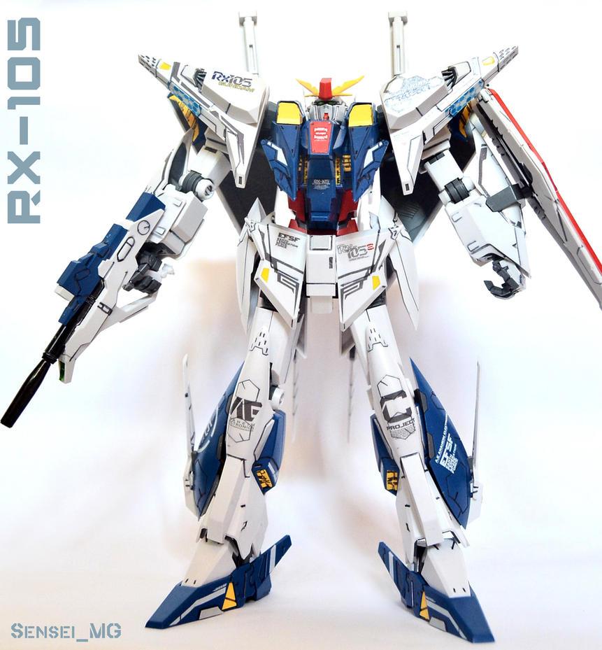 RX-105 XI Gundam #2 by LetsGoFar
