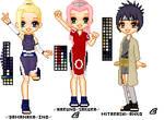 Naruto Pixel Dolls