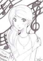 Music makes me... by Animizuu